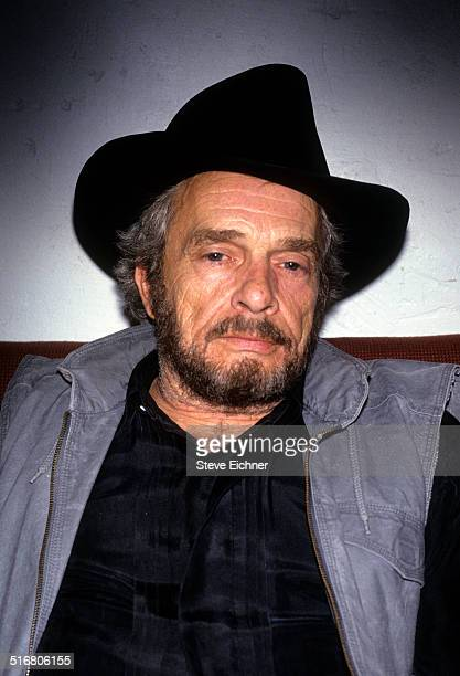 Merle Haggard backstage portraits at Tramps New York June 23 1993