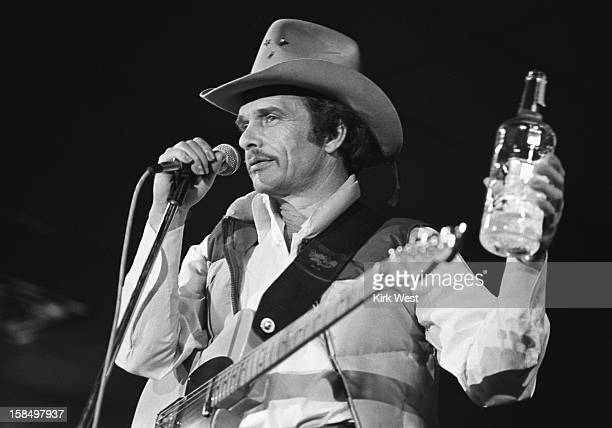 Merle Haggard performs at Countryside Opry Chicago Illinois October 31 1980
