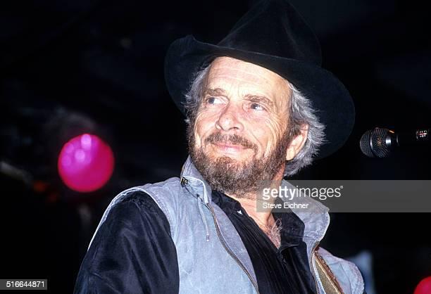 Merle Haggard performs at Tramps, New York, June 23, 1993.