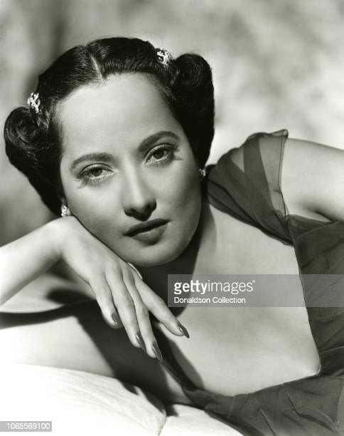 Merle Oberon in a scene from the movie Affectionately Yours