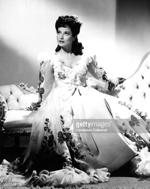 Merle Oberon in a scene from the movie The Lodger
