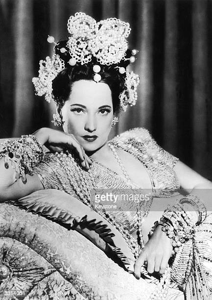 Merle Oberon in one of her many glamorous film roles