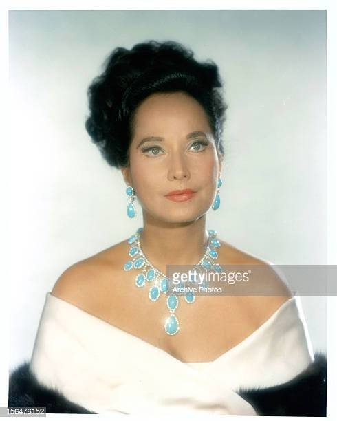 Merle Oberon in publicity portrait for the film 'Hotel' 1967