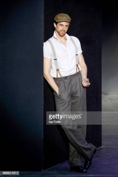 Merlin Fargel as Che during the Thurn Taxis Castle Festival 2018 'Evita' Musical on July 15 2018 in Regensburg Germany