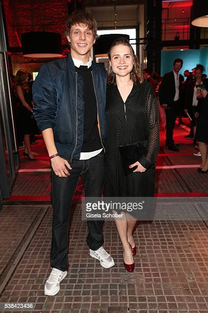 Merlin Rose and Mala Emde during the New Faces Award Film 2016 at ewerk on May 26 2016 in Berlin Germany