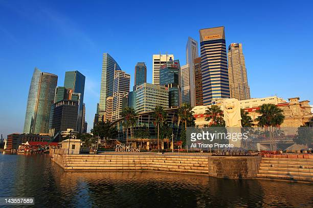 merlion statue - merlion stock pictures, royalty-free photos & images