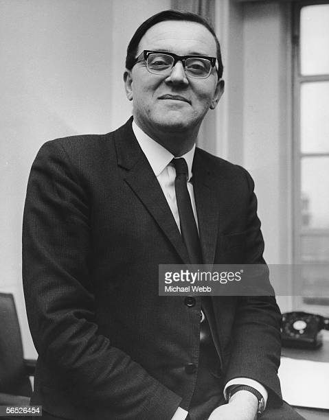 Merlyn Rees Parliamentary Secretary for the Defence of the Army at his office in Westminster 29th December 1965