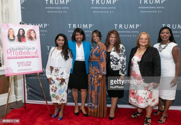 Merlynn Carson Mrs Candy Carson Actress Stacey Dash and hosts Dr Day Gardner Prolife advisor for the Trump National Diversity Coalition founder and...