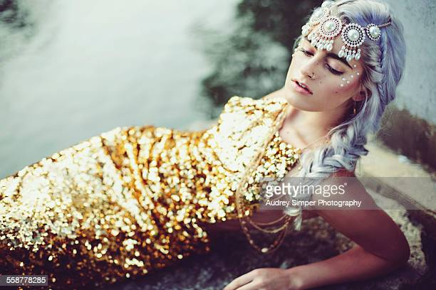Mermaid in Gold