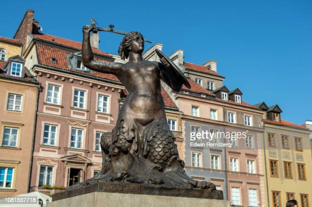 mermaid - warsaw stock pictures, royalty-free photos & images