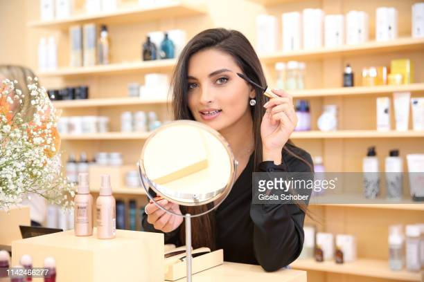 Merna Hermez during the Zalando Beauty Pop-Up Event on May 9, 2019 in Munich, Germany.