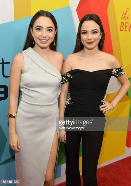 Merrell Twins at the 2017 Streamy Awards at The Beverly Hilton Hotel on September 26 2017 in Beverly Hills California