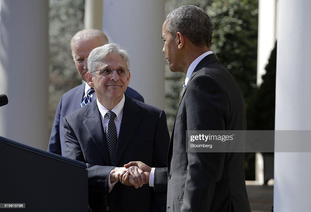 President Obama Announces Supreme Court Nominee : News Photo