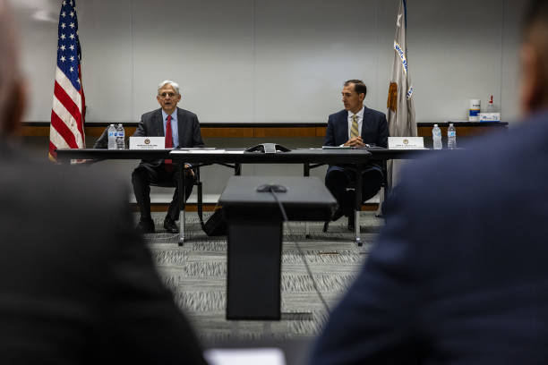 IL: Attorney General Garland Meets Local Law Enforcement Leaders