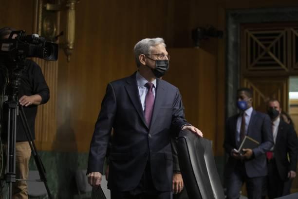 DC: Attorney General Merrick Garland Testifies Before Senate Judiciary Committee