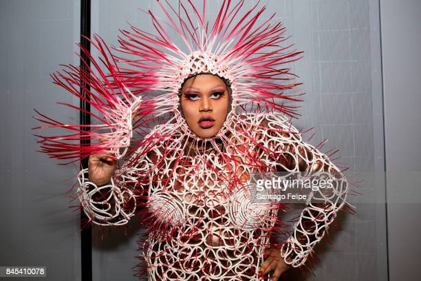 Merrie Cherry attends RuPaul's DragCon NYC 2017 at The Jacob K. Javits Convention Center on September 10, 2017 in New York City.
