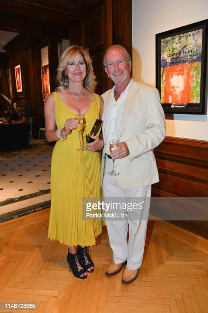 Merrill Dee and Dr Harvey Manes attend Nassau County Museum Of Art 2019 Museum Ball at Nassau County Museum of Art on June 8 2019 in Roslyn Harbor NY