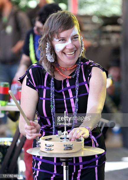 Merrill Garbus of tUnE-yArDs performs at the Sutro Stage during the 2011 Outside Lands Music and Arts Festival held at Golden Gate Park on August 14,...