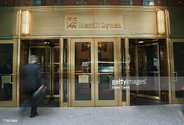 Merrill Lynch Co headquarters are seen October 29 2007 in New York City Merrill Lynch CEO Stan O'Neal is reportedly close to resigning following the...