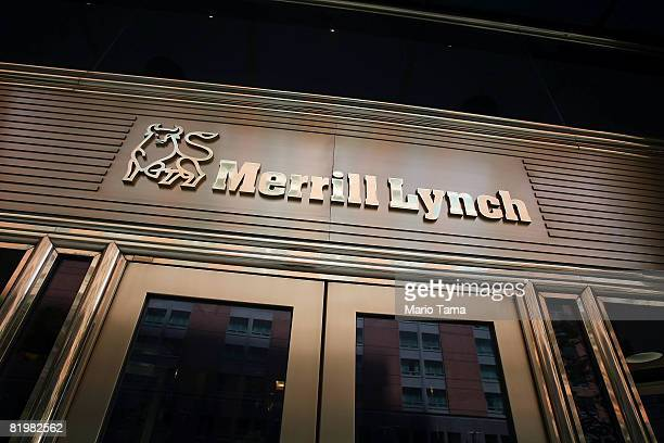 Merrill Lynch offices are seen July 18 2008 in New York City Merrill Lynch lost another $49 billion while posting its fourthstraight quarterly loss...