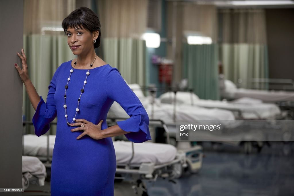 Merrin Dungey as Claire Thorp in THE RESIDENT premiering Sunday, Jan. 21 (10:00-11:00 PM ET/7:00-8:00 PM PT), following the NFC CHAMPIONSHIP GAME, and makes its time period premiere on Monday, Jan. 22 (9:00-10:00 PM ET/PT).on FOX.