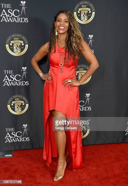 Merrin Dungey attends the 33rd Annual American Society Of Cinematographers Awards For Outstanding Achievement In Cinematography at The Ray Dolby...