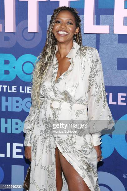 Merrin Dungey attends the Big Little Lies Season 2 Premiere at Jazz at Lincoln Center on May 29 2019 in New York City