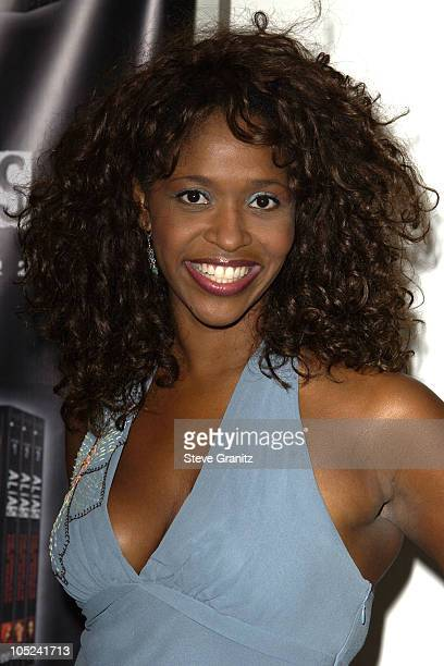 Merrin Dungey during Alias DVD/Video Game Press Launch at The Astra Lounge in West Hollywood California United States