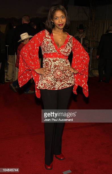 Merrin Dungey during Dreamkeeper ABC AllStar Winter Party at Quixote Studios in Los Angeles California United States