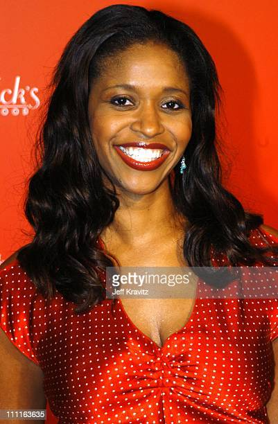 Merrin Dungey during Frederick's of Hollywood Debuts Fall 2003 Collection at Smashbox Studios in Culver City CA United States