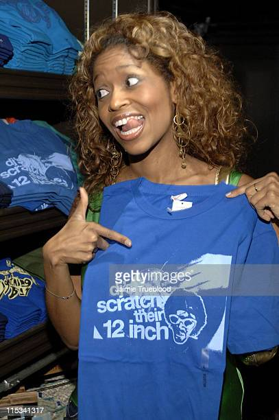 Merrin Dungey during Jesse McCartney and Summerland Cast Visit Hollister Store in Newport Beach at Newport Fashion Island in Newport Beach California...