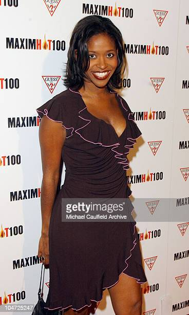 Merrin Dungey during Maxim Hot 100 Party Arrivals at Yamashiro in Hollywood California United States
