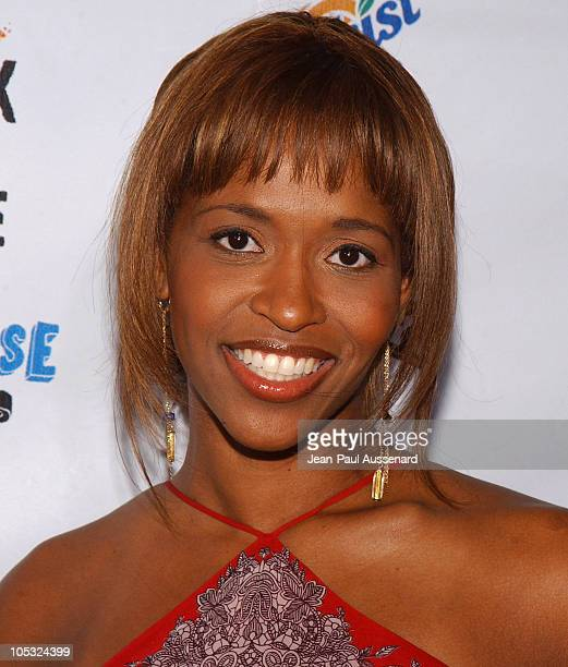 Merrin Dungey during Rock The Vote 2004 National Bus Tour Concert Arrivals at Avalon in Hollywood California United States