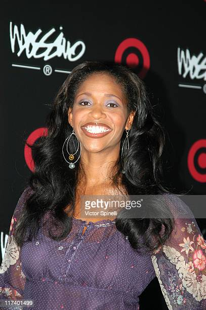 Merrin Dungey during Target Hosts LA Fashion Week Party for Designer Mossimo Giannulli at Area in Los Angeles California United States