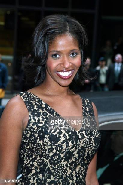 Merrin Dungey of ABC's Alias during ABC Upfront 20022003 Season at Cipriani's 42nd Street in New York City New York United States