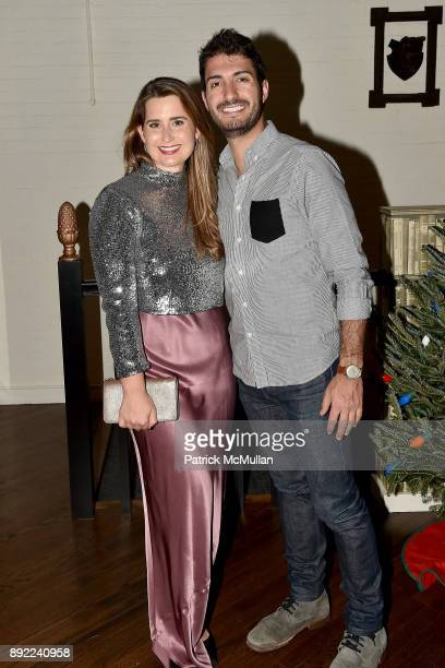 Merrin Jenkins and Matt Carter attend Ken Fulk's OldFashioned TequilaFueled Holiday Party at Ken Fulk Tribeca on December 13 2017 in New York City