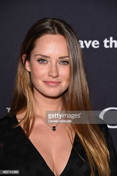 Merritt Patterson attends BVLGARI And Save The Children STOP THINK GIVE PreOscar Event at Spago on February 17 2015 in Beverly Hills California