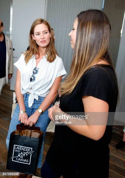 Merritt Patterson attends Kari Feinstein's Style Lounge presented by Ocean Spray on September 15 2017 in Los Angeles California