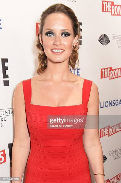 Merritt Patterson attends the 'The Royals' UK premiere party at the Mandarin Oriental Hyde Park on March 24 2015 in London England 'The Royals'...