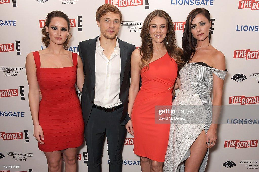 'The Royals' Premiere Party, UK : News Photo