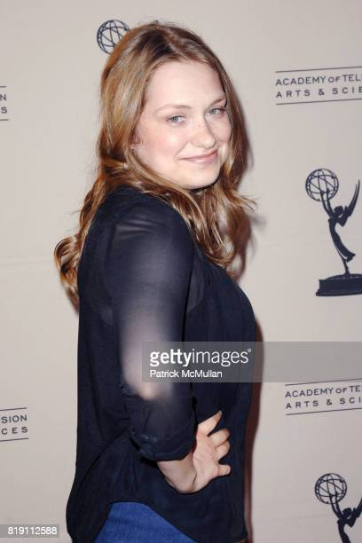 Merritt Weaver attends The Academy of Television Arts and Sciences presents an evening with 'NURSE JACKIE' at the Leonard H Goldenson Theatre on...