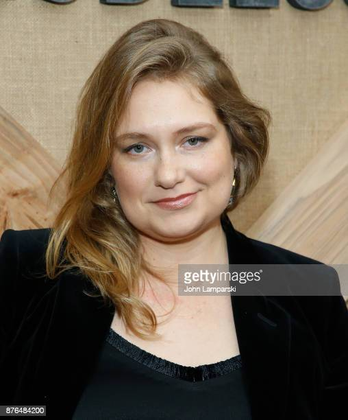 Merritt Wever attends 'Godless' New York premiere at The Metrograph on November 19 2017 in New York City