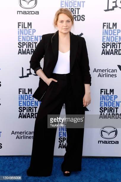 Merritt Wever attends the 2020 Film Independent Spirit Awards at Santa Monica Pier on February 08, 2020 in Santa Monica, California.