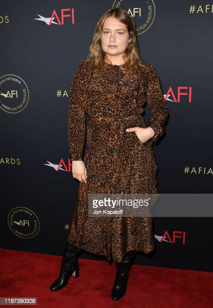 Merritt Wever attends the 20th Annual AFI Awards at Four Seasons Hotel Los Angeles at Beverly Hills on January 03 2020 in Los Angeles California