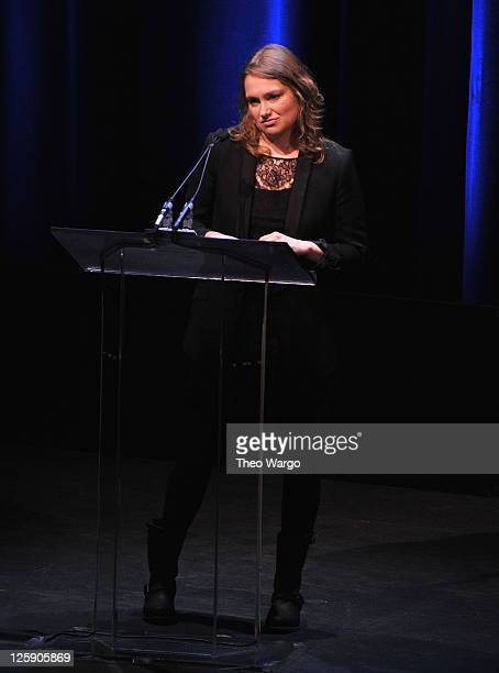 Merritt Wever attends the 63rd annual Writers Guild Awards at the AXA Equitable Center on February 5 2011 in New York City