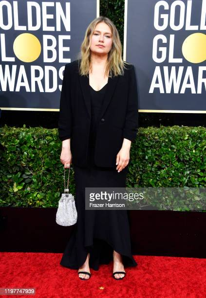 Merritt Wever attends the 77th Annual Golden Globe Awards at The Beverly Hilton Hotel on January 05 2020 in Beverly Hills California