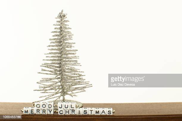 Merry Christmas  in the Danish language,  God Jul.