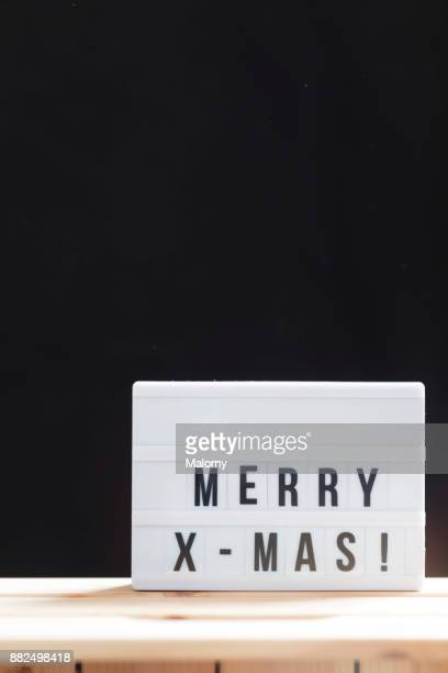 Merry Christmas Or Merry X-mas Sign