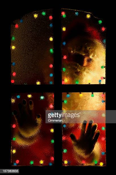 merry christmas!!! - magic doors stock pictures, royalty-free photos & images