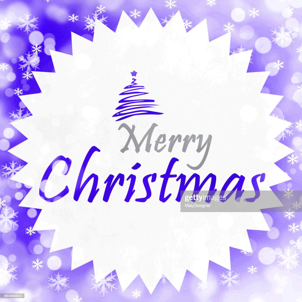 Merry Christmas Season Greetings Quote Stock Photo Getty Images